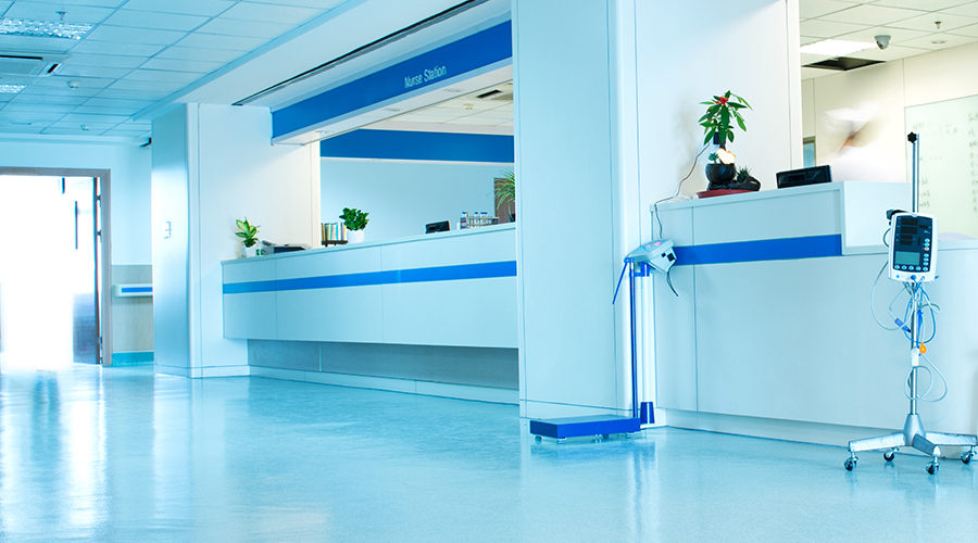 What are the Care Quality Commission regulations for hospital cleaning