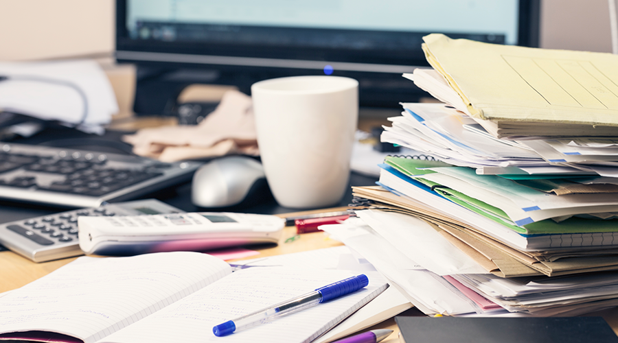 New Statistics Reveal the Dirtiest Work Spaces